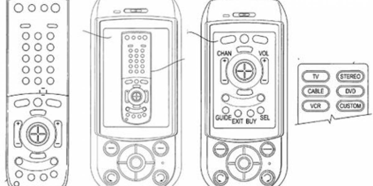 Nueva patente de Sony Ericsson: Celular con control remoto