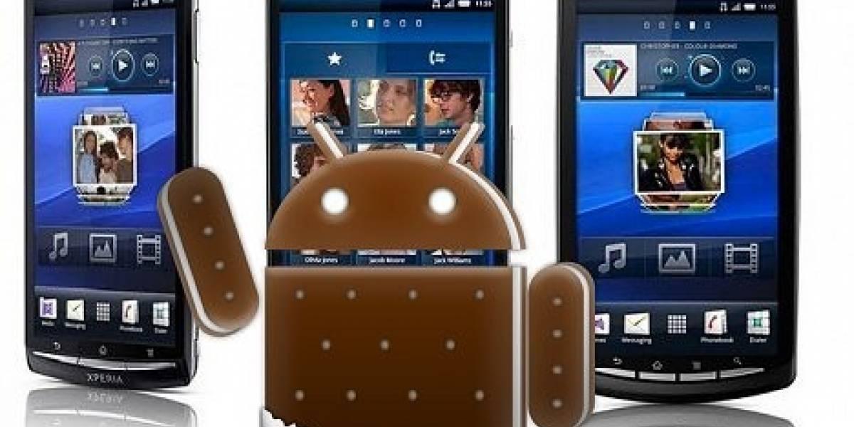 Sony Ericsson confirma que toda la línea Xperia 2011 tendrá Ice Cream Sandwich