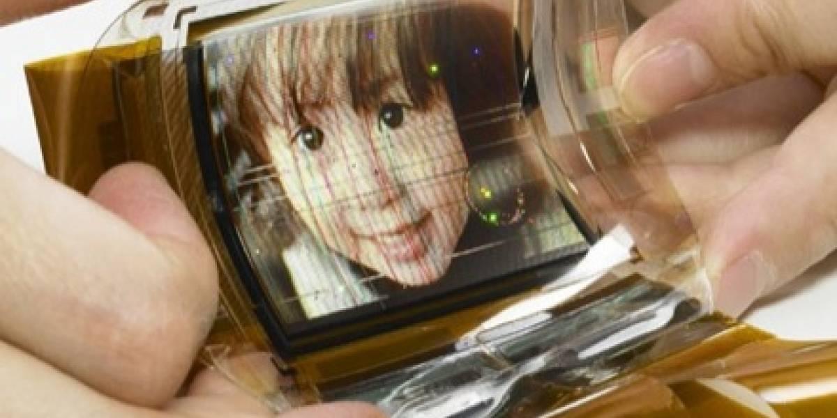 Sony presenta pantalla flexible OLED a 16.7 millones de colores