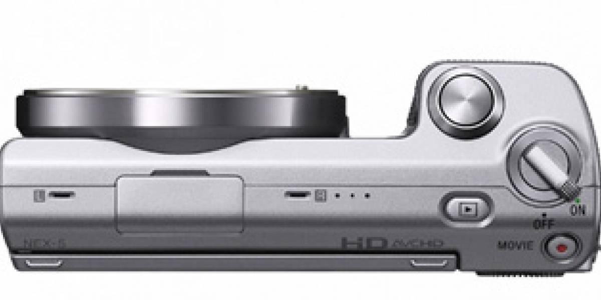 Sony presenta las cámaras EVIL NEX-3 y NEX-5 con lentes intercambiables y video HD