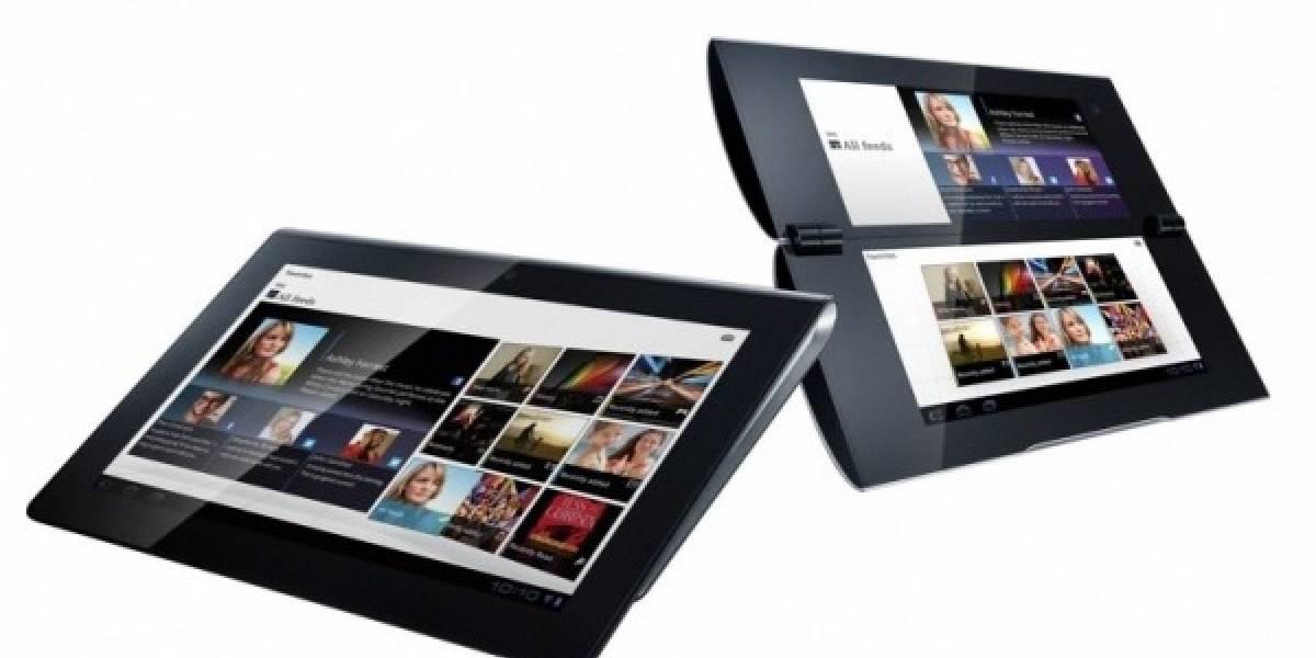 IFA11: Sony presenta el Tablet S y el Tablet P