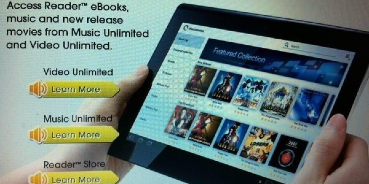 La tableta S1 de Sony se llamará Tablet S