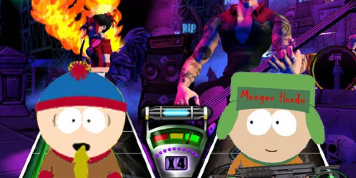 Guitar Hero, pero a lo South Park