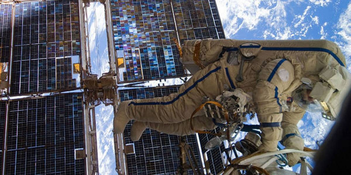 Segundo intento para reparar la electricidad de la ISS