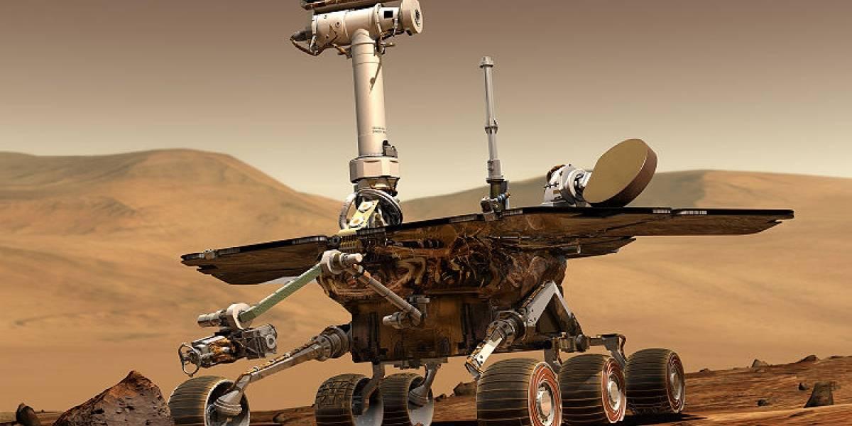 Spirit cumple 7 años en Marte, y sigue atascado