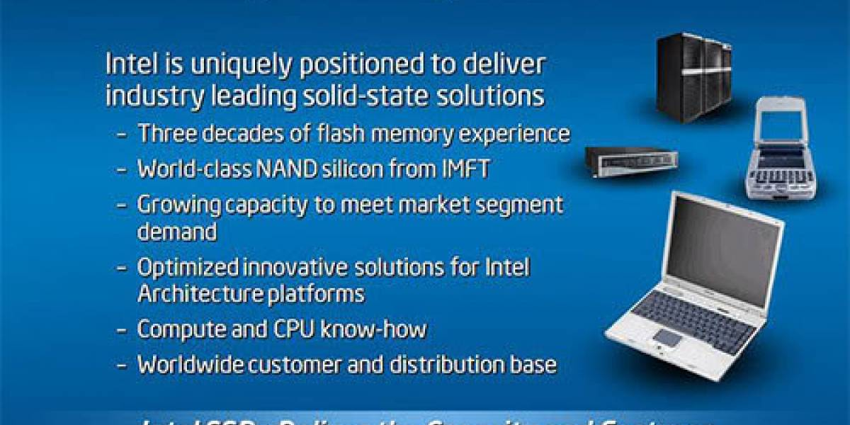 Intel prepara SSDs de 160 GB para notebooks