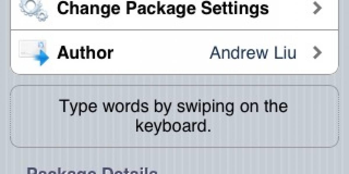 En forma no oficial aparece Swype para iPhone