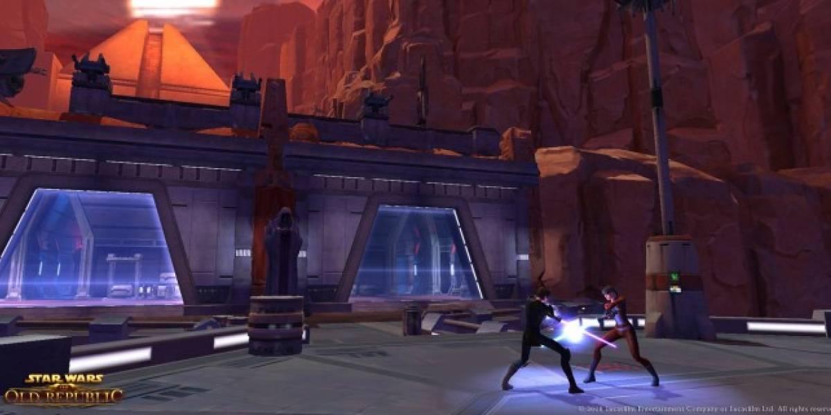 Futurología: Star Wars Old Republic llegará en septiembre
