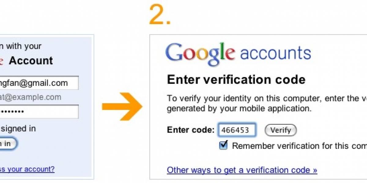 Google lanza sistema de doble identificación para que te sientas más seguro