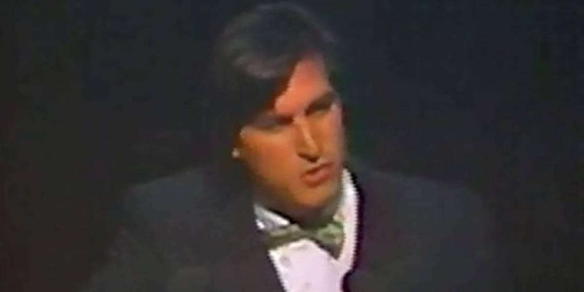 Esta es la parte en la que Steve Jobs cambió la manera de ver las cosas