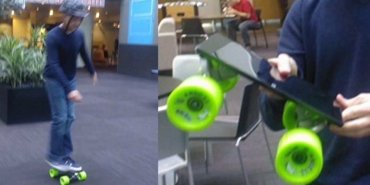 Microsoft convierte la tableta Surface en un skateboard