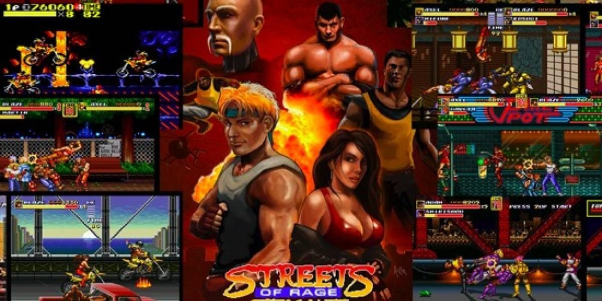 Se lanza remake no oficial de Streets of Rage