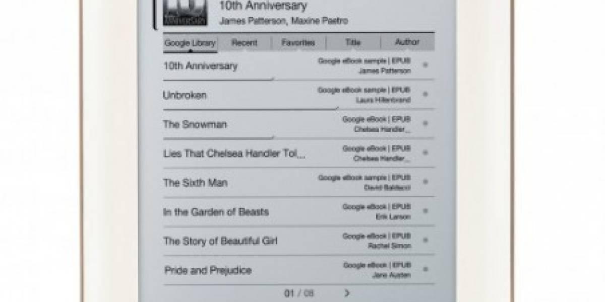Google anuncia el iriver Story HD, primer lector con Google Books de forma nativa