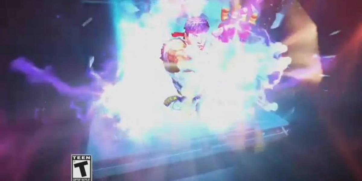 Comercial de Street Fighter IV 3DS nos deja con ganas de jugar