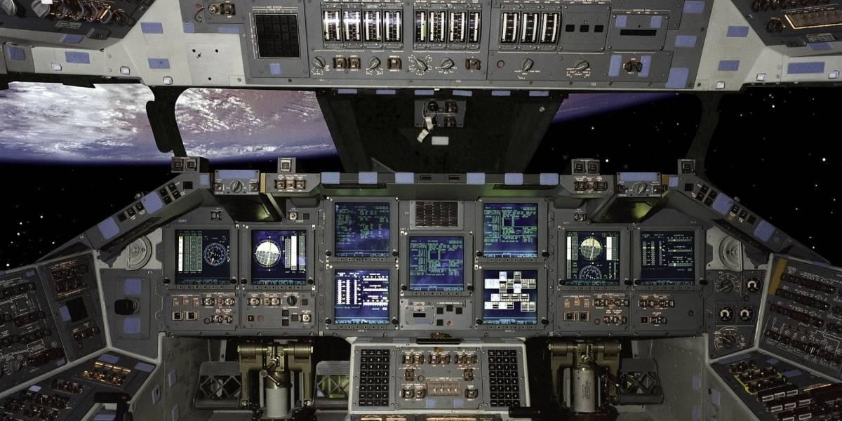 Sin Palabras: Cabina de vuelo del transbordador espacial Atlantis