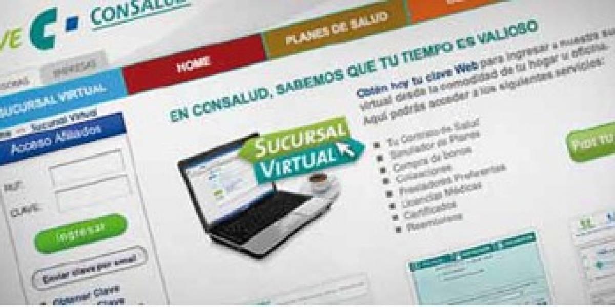 Isapre Consalud lanza un sitio web para consultas y trámites en dispositivos móviles