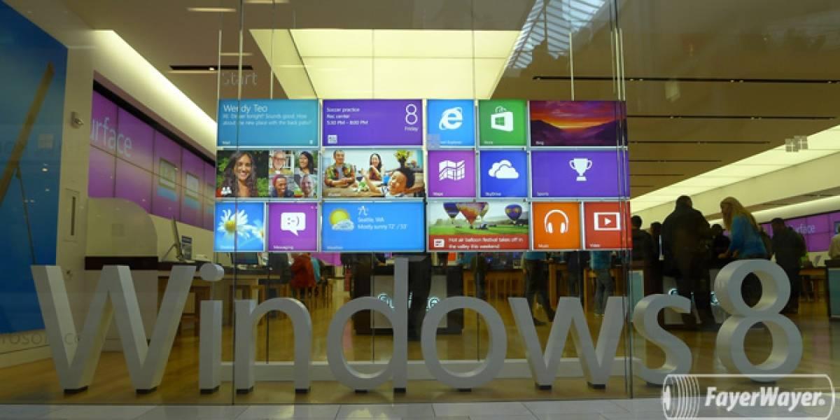 Windows 8 tiene más de 35.000 aplicaciones en su tienda