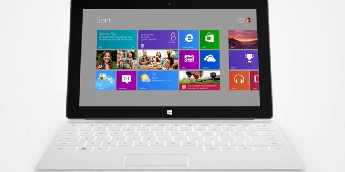 Microsoft ya está trabajando en Surface 2