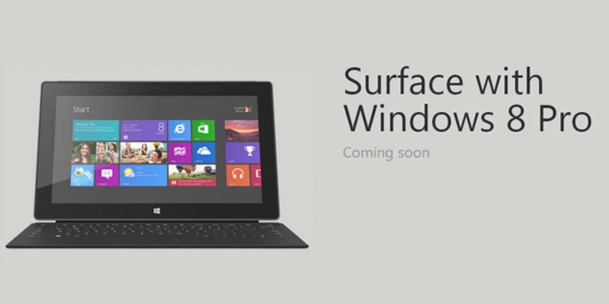 La Surface Pro ya tiene precio y se puede reservar en Alemania