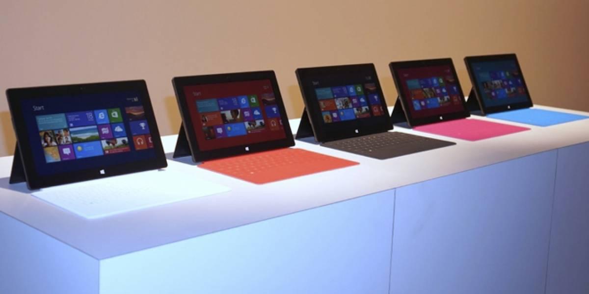 Microsoft Surface Pro de 64GB tendrá sólo 23GB de espacio libre disponible