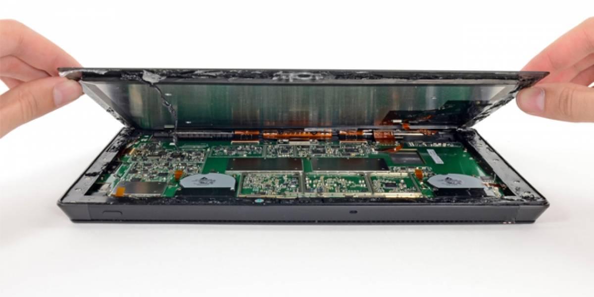Especialistas claman que el Microsoft Surface Pro es casi imposible de reparar