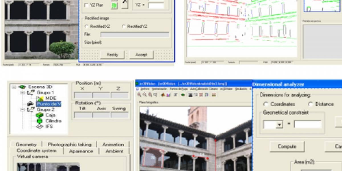 Desarrollan software para recrear 3D a partir de una sola fotografía