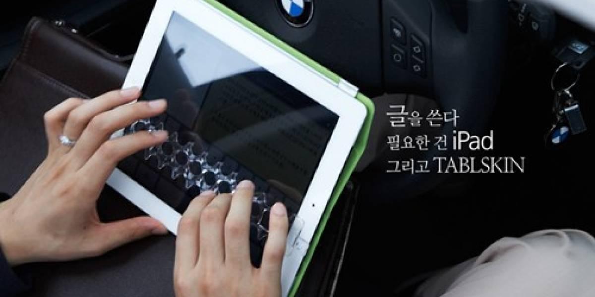 TABLSKIN 2 hará más facil teclear en la tableta