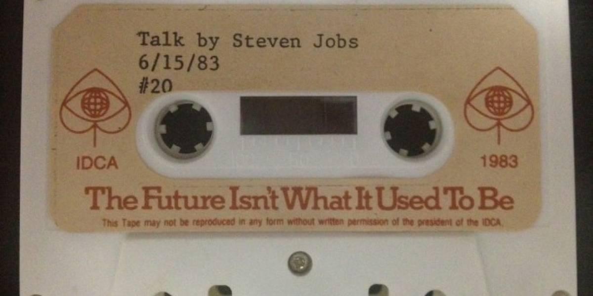 Steve Jobs tenía en mente la idea del iPad y el App Store desde 1983