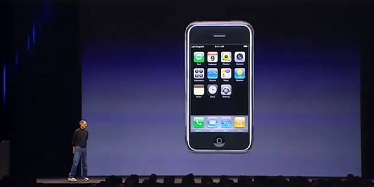 [Video] La presentación del primer iPhone