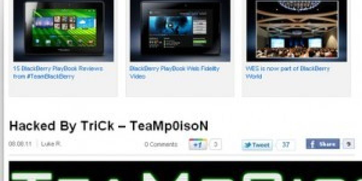 RIM: Hackeado por colaborar con policía de Londres