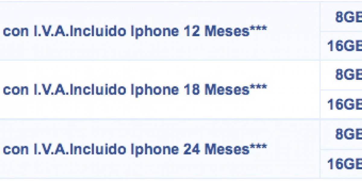 Nuevos planes para el iPhone en Telcel