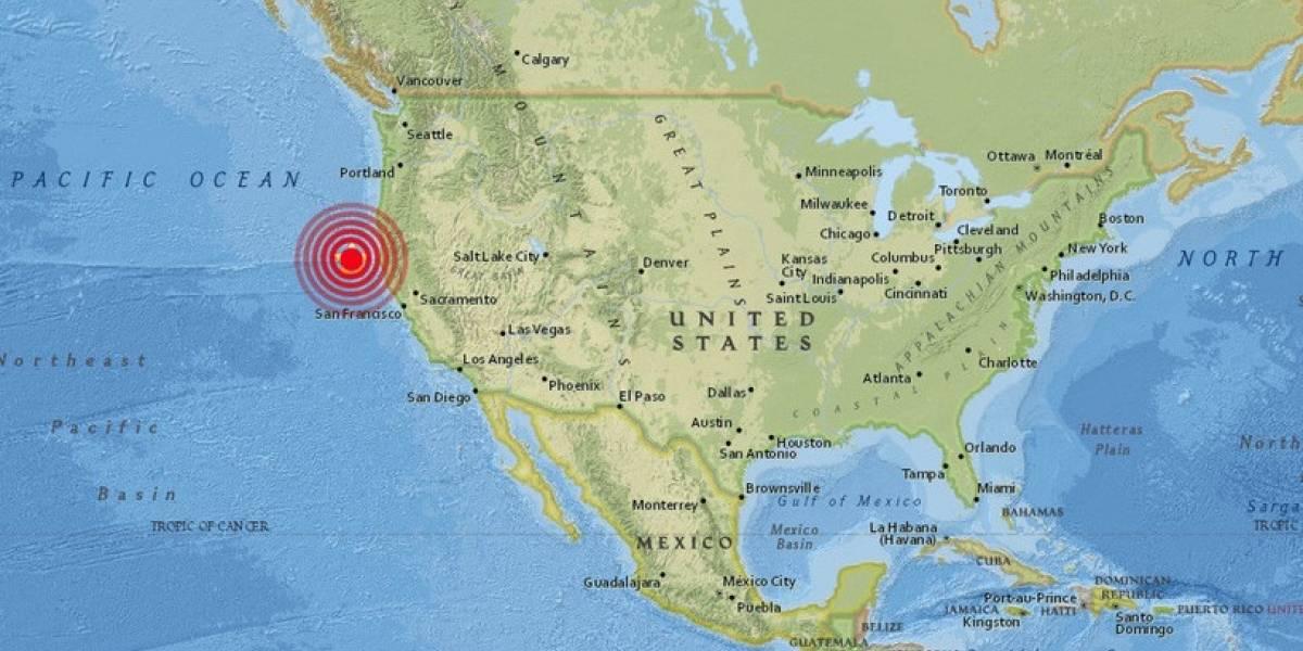 Sismo de 5.8 grados sacude las costas de California