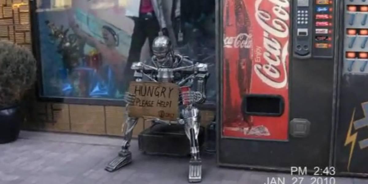Terminator vs. Apple Store (Video)