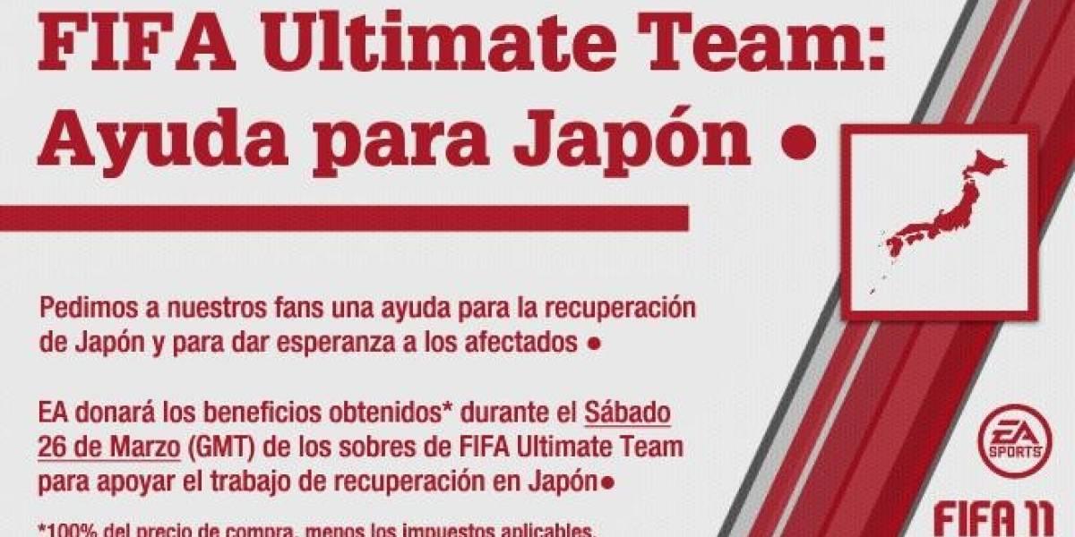Compra un FIFA 11 Ultimate Team Pack y ayuda a los damnificados de Japón