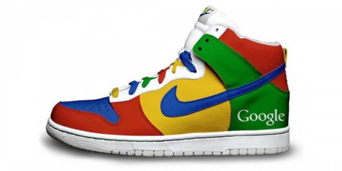 Zapatillas deportivas Nike a la Google, Twitter y Firefox
