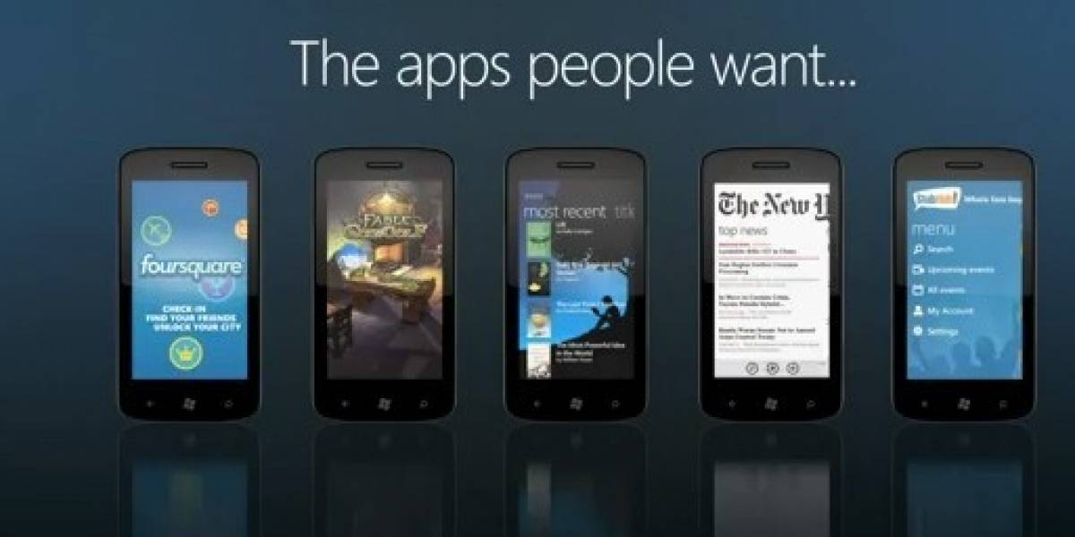 Windows Phone Mango: Apps pensadas en la gente
