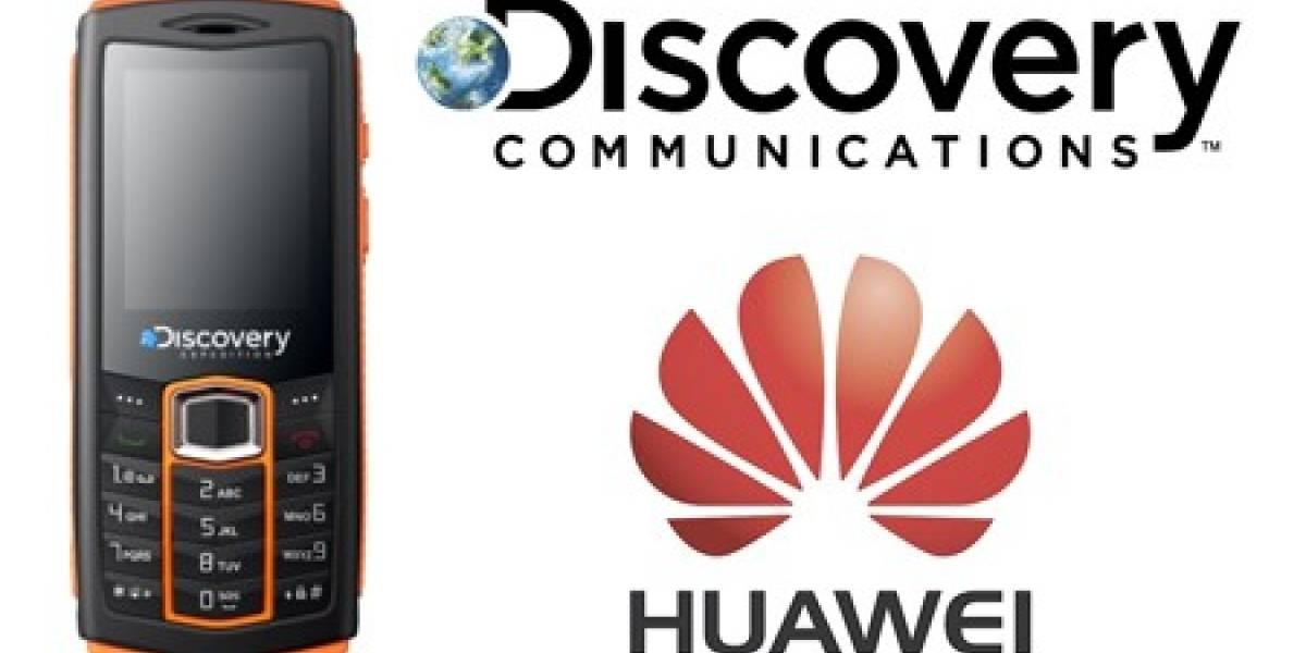 Huawei y Discovery lanzarán celular resistente a agua, polvo y golpes
