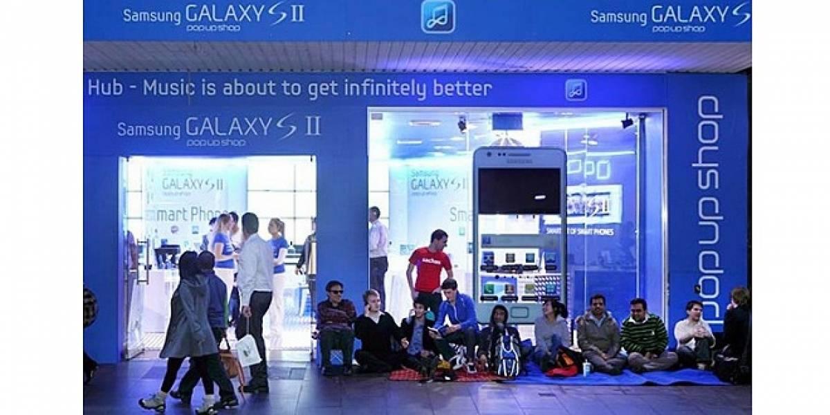 ¡Samsung vende el Galaxy S II a solo 2 dólares en Sydney!