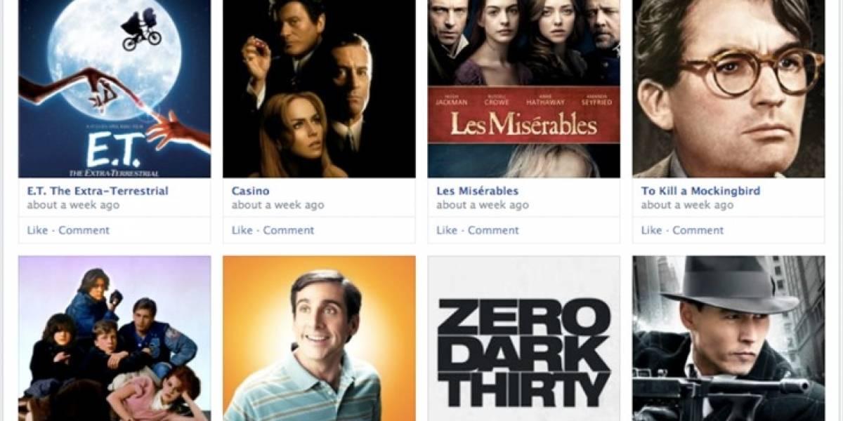 Facebook reordena el diseño del Timeline