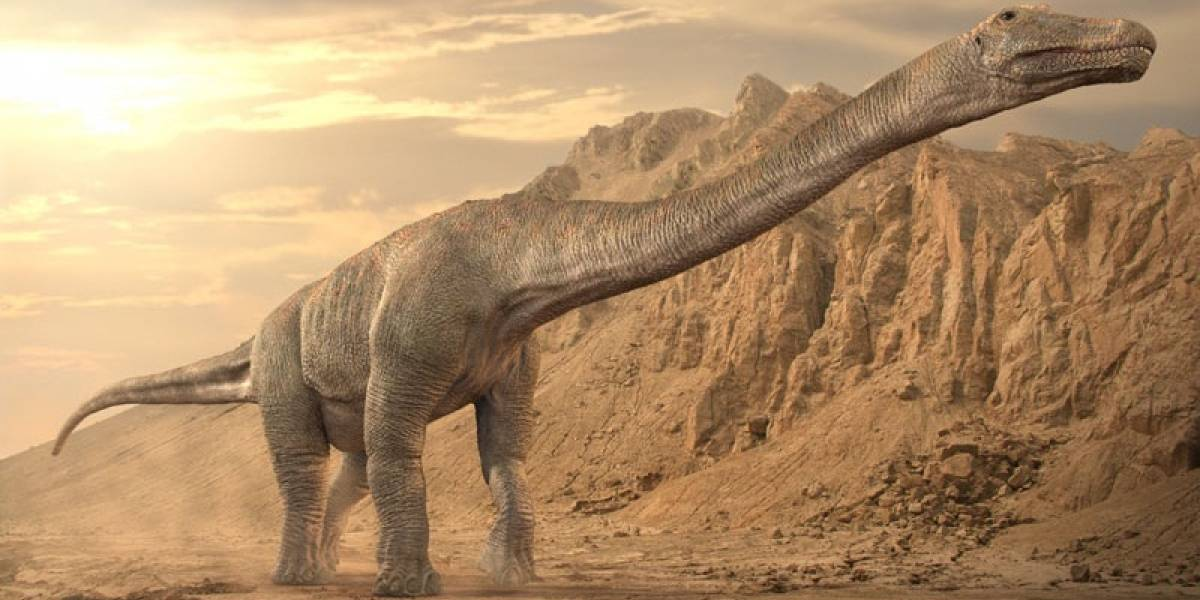 Fósil de titanosaurio hallado en isla antártica demuestra que los saurópodos eran globales