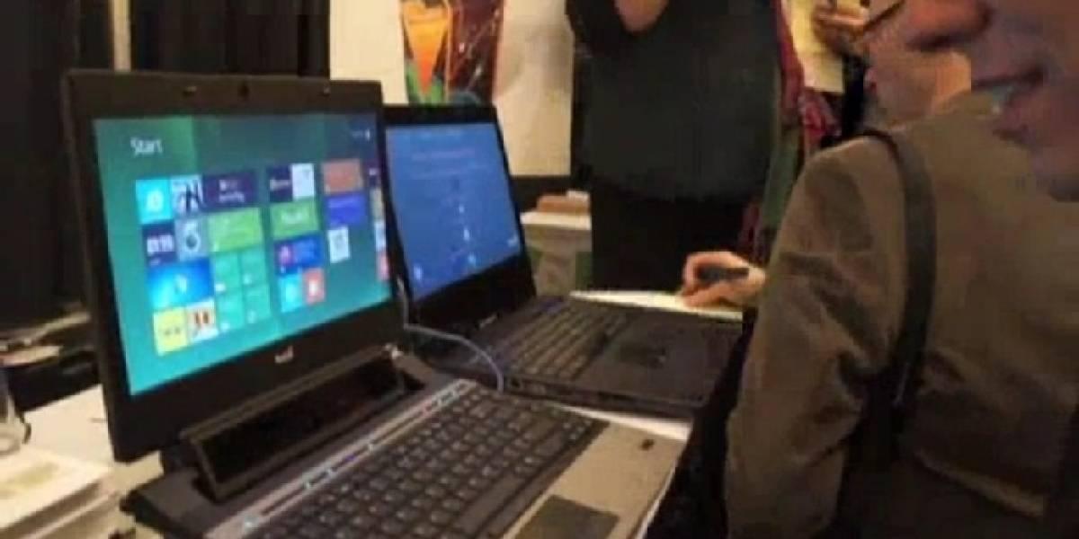CES 2012: Tobii presenta su control de PC con la mirada para Windows 8