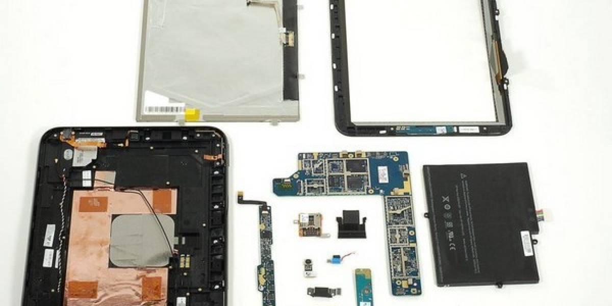 Coste de fabricación del HP TouchPad es casi el mismo que el del iPad 2