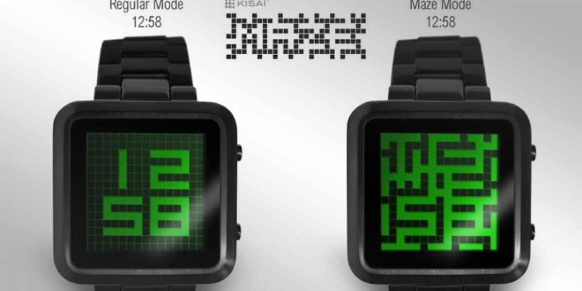 Tokyoflash y su nuevo reloj que parece un laberinto
