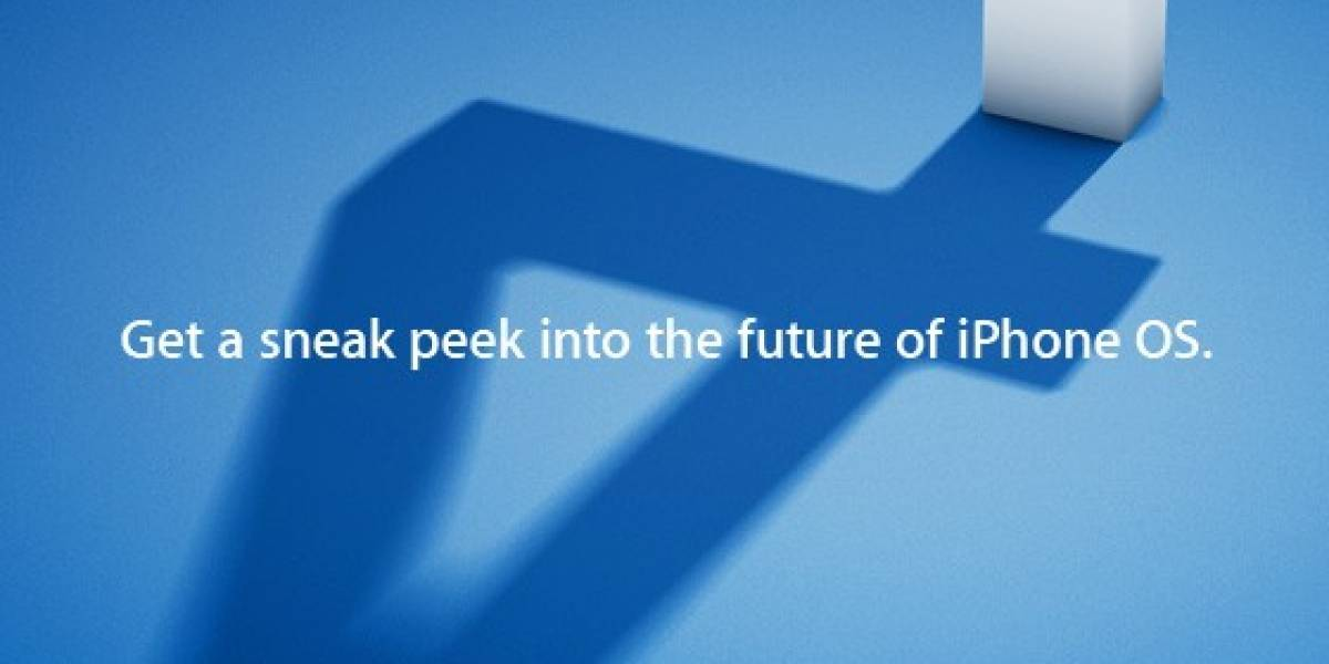 Apple confirma evento para presentar iPhone OS 4