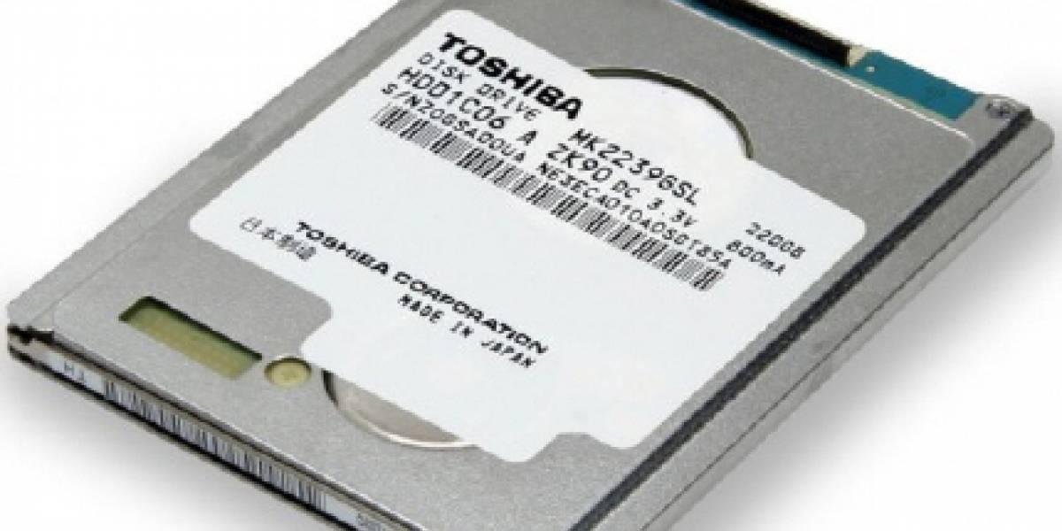 """Toshiba presenta el primer disco duro de 1,8"""" con interfaz SATA y conector LIF"""