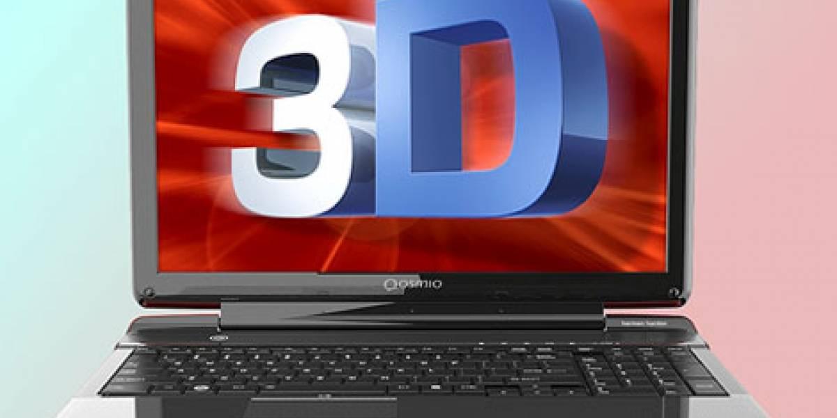 CES 2012: Ya puedes disfrutar de 3D sin gafas en el Toshiba Qosmio F755