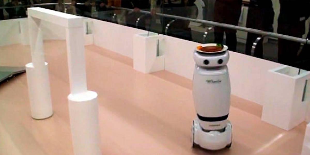Toshiba Wheelie: Prototipo de robot doméstico autónomo
