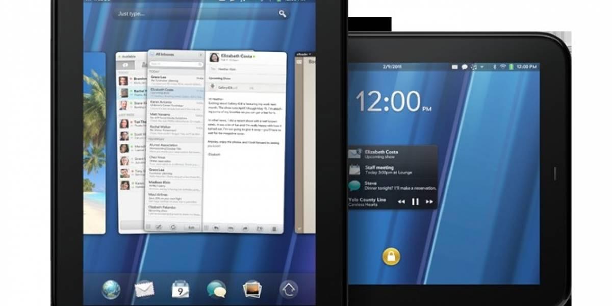 HP lanza dos smartphones y un tablet con WebOS [FW Live]