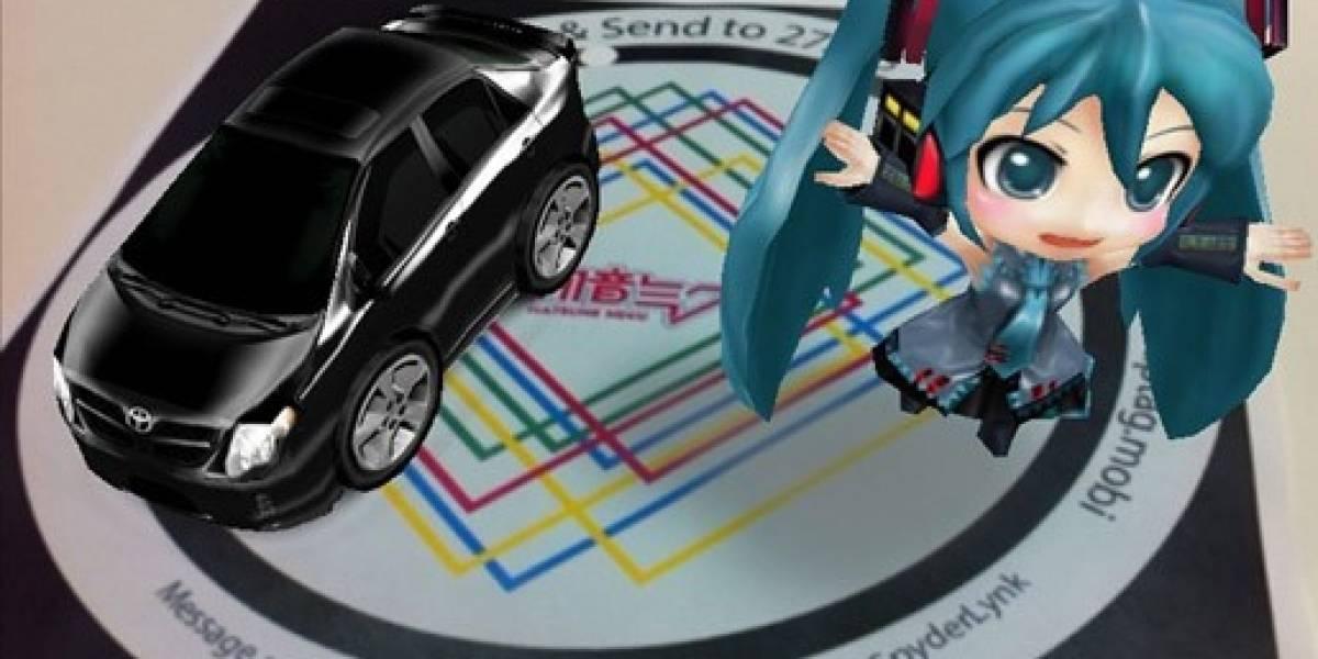 Toyota y Hatsune Miku juntos en una app