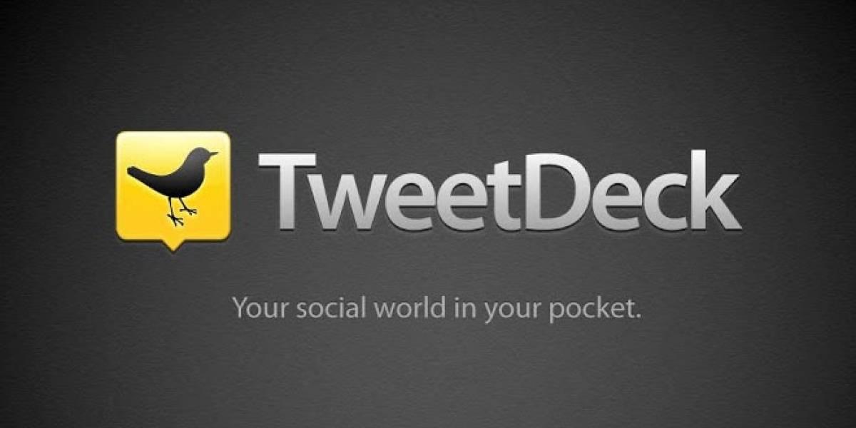 Twitter descontinuará la versión AIR de TweetDeck
